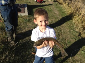 Prep Goes Fishing With Dad