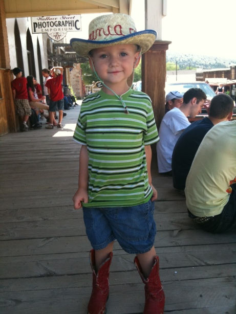 Presto the cowboy