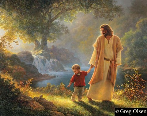 Take My Hand--Greg Olsen